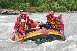 Geschenkgutschein: Rafting Rock 'n' Roll in Kärnten oder Osttirol -