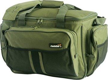 Große Olive Grün Isoliertem Angeltasche Karpfentasche durch foolsGold -