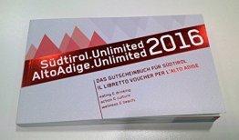Gutscheinbuch Südtirol.Unlimited 2016 -