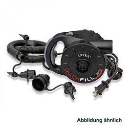 Intex Luftpumpe elektrisch 230V 200W Quick Fill -
