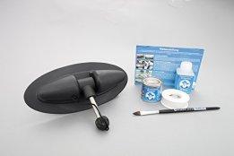 Paddelhalter mit Kleber-Kit & Anleitung für Schlauchboot -