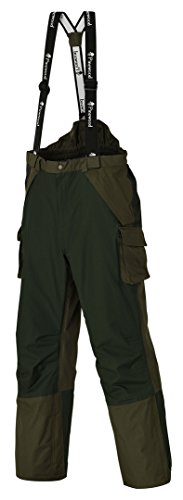 Pinewood Überhose Ancona, Green/Darkgreen, S, 9824-104 -