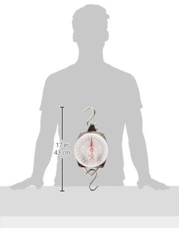 Quantum Angeln - Accessoires Federzug-Waage 25kg/55lb, mehrfarbig, 9890005 -
