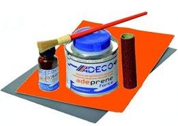 Schlauchbootkleber 2 Komponenten Reparaturset in orange -