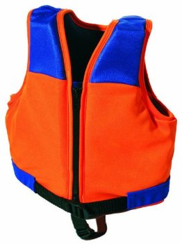 SIMA by Fashy Kinder Schwimmweste, orange-blau, M, 8363 M -