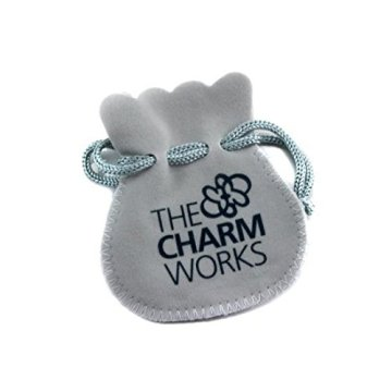 TheCharmWorks Sterlingsilber Angelrute Charmanhänger | Sterling Silver Fishing Rod Charm -