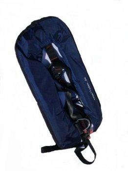 Vollautomatische Rettungsweste Schwimmweste in dunkelblau 150 N mit Lifebelt -