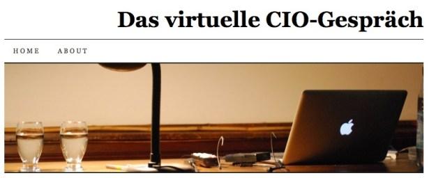 Das virtuelle CIO-Gespräch
