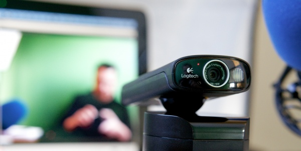 Logitech® Broadcaster Wi-Fi® Webcam