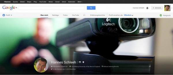 Google+ Profil