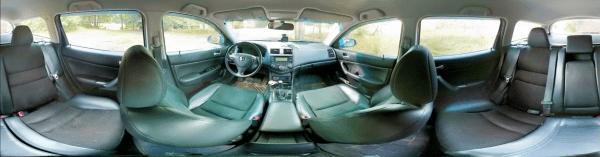 Im Auto Kugelpanorama