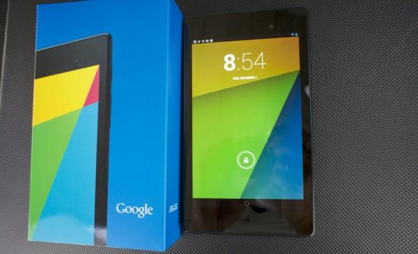 Zwei Google Nexus 7 WLAN Tablets mit 16 GB Speicher
