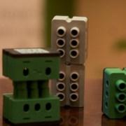 CeBIT Preview Stand von Digitalstrom Nachbau mit Lego-Ähnlichen Lüsterklemmen