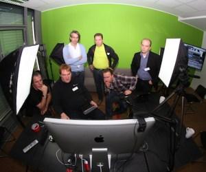 Hangout on Air mit BOINX TV auf dem Streamcamp 2013 in Koeln Foto