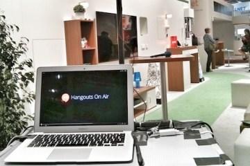 Hangout on Air von der CeBIT Mobiles Studio