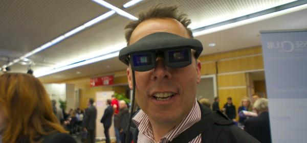 Fraunhofer COMEDD Brille Medientage München 2013
