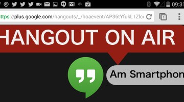 Mobiler Journalismus in Echtzeit – Hangout on Air vom Smartphone starten