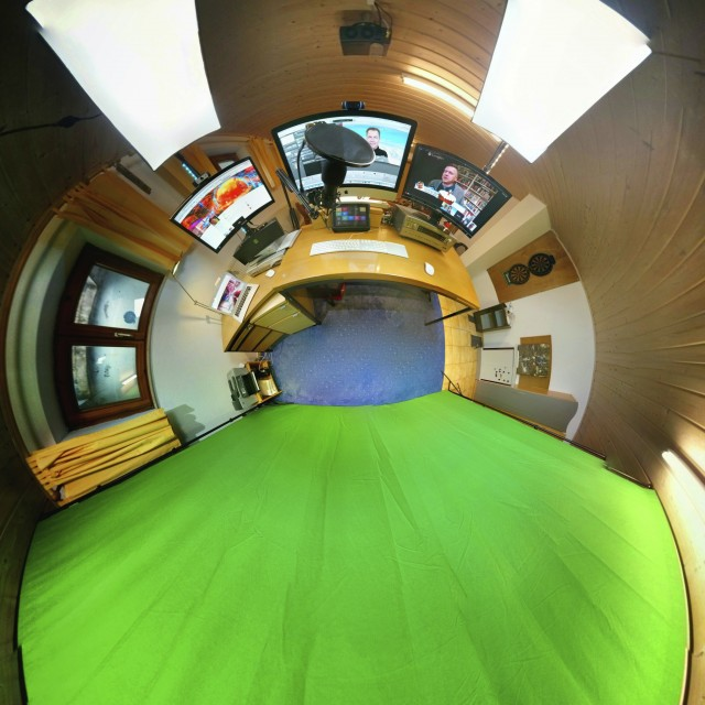 Greenscreen Studio von Hannes Schleeh in Aresing