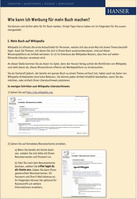 Anleitung für Autoren