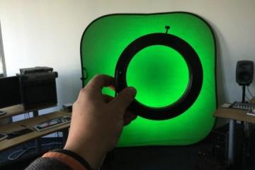 Chroma Keying mit LED-Ring