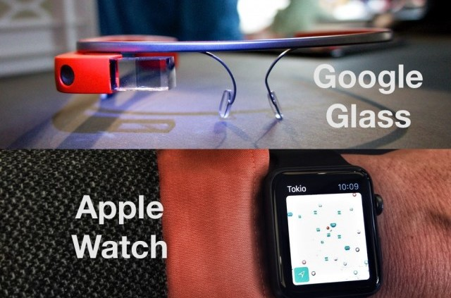 Google Glass oder Apple Watch