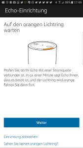 Amazon Echo unter Android einrichten