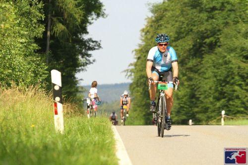 Anstieg zum Col de Stausacker...
