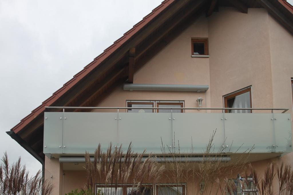 Balkongelnder EdelstahlGlas  BK50  SchlossereiSchleip