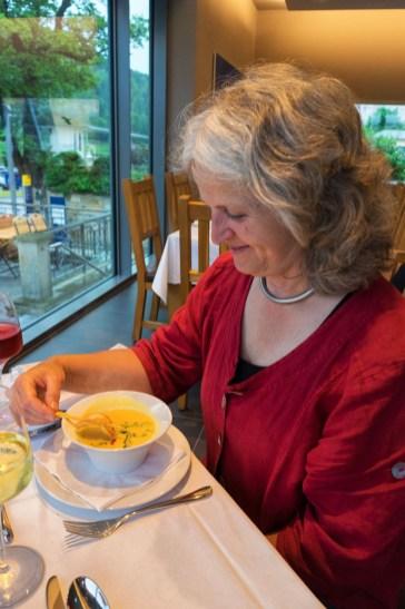 Curry-Zitronensüppchen