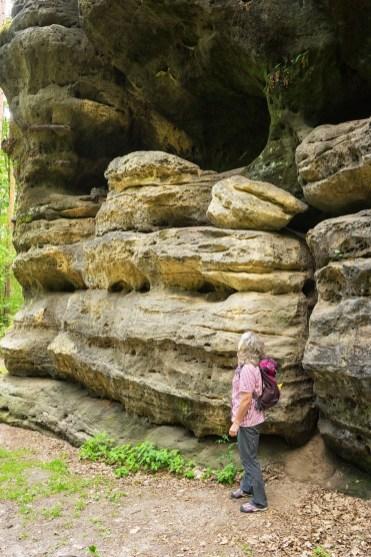 Sandsteinfelsen am Rauenstein