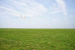 Segelfliegen LSG Lippe Start