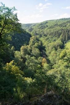 Teufelsberg mit Blick ins Brexbachtal