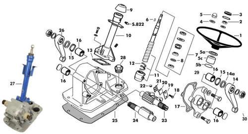 Schlepper-Teile » Shop Einstellblech für Lenkwelle 0,010