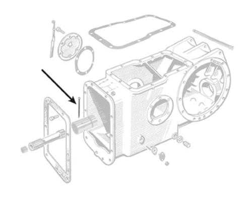 Schlepper-Teile » Shop Splint (354416X1, 3701695M1