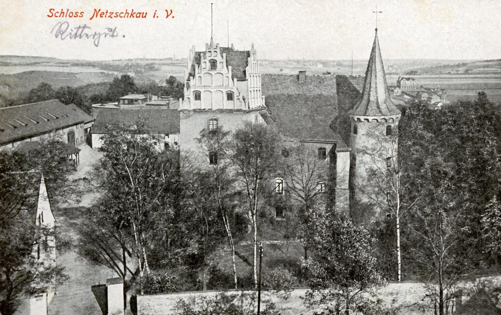 Das Schloss Netzschkau  Schloss Netzschkau