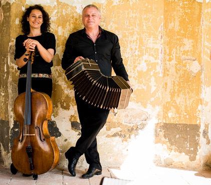 "Duo Klaus Paier & Asja Valcic mit ""Timeless Suite"""