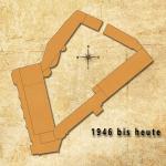 Vereinfachter Grundriss des Schlosses Rammelburg