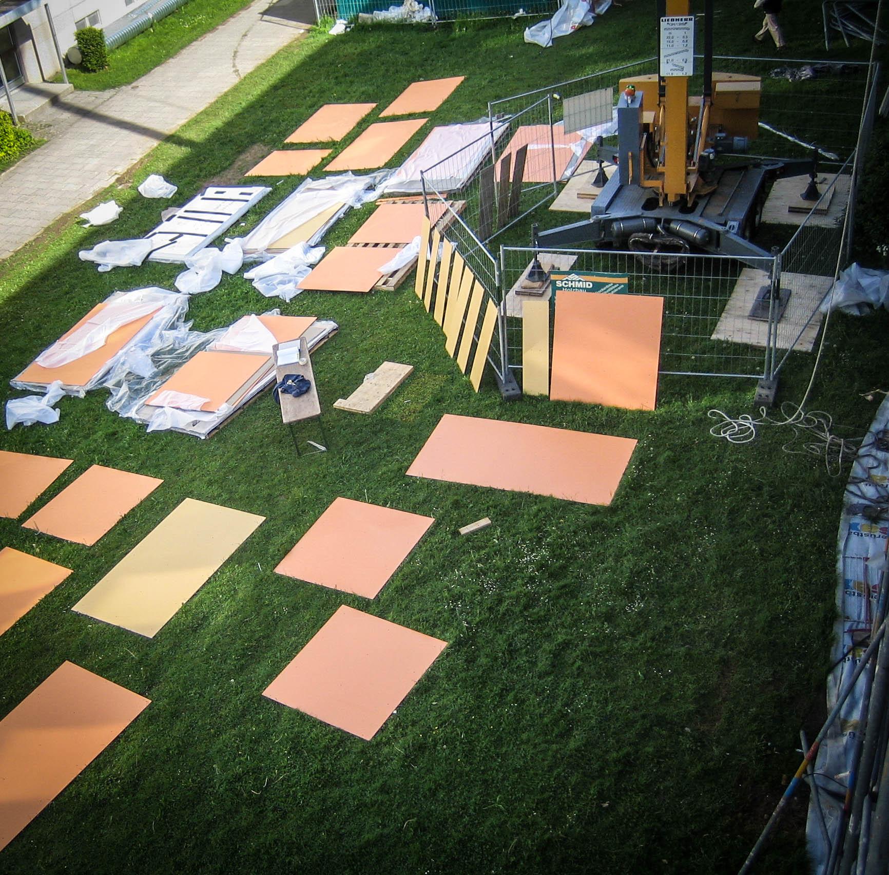 Komplette Sanierung Der Fassade München - Schmid Holzbau Gmbh