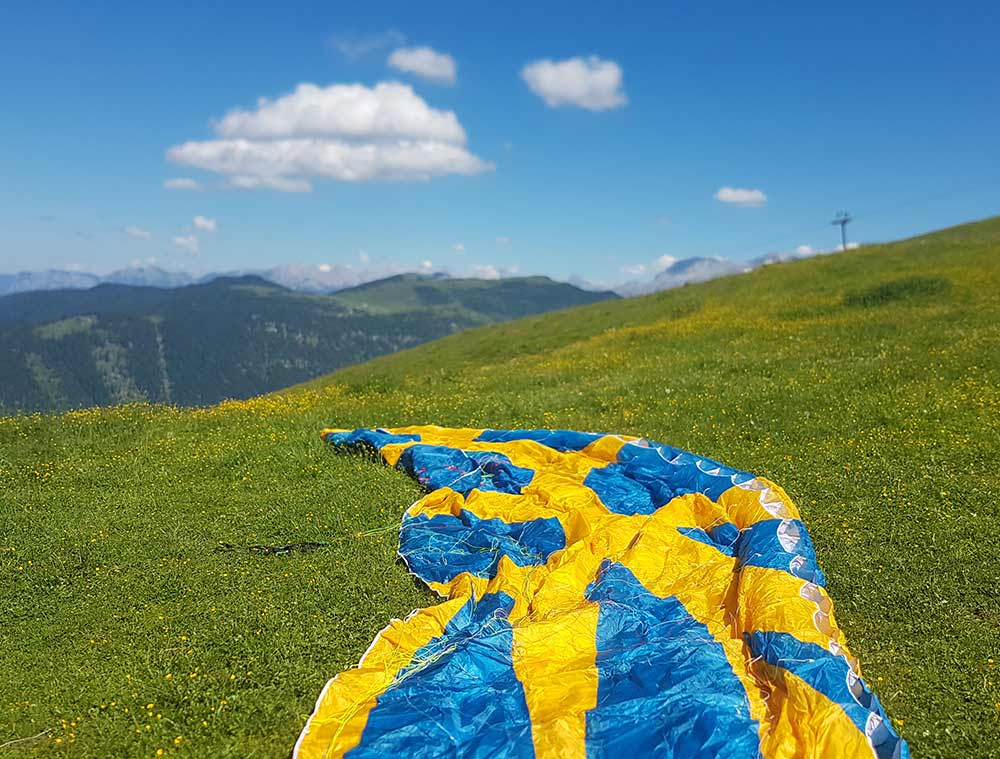 FERIENWOHNUNG WILDER KAISER mit Paraglidemöglichkeit