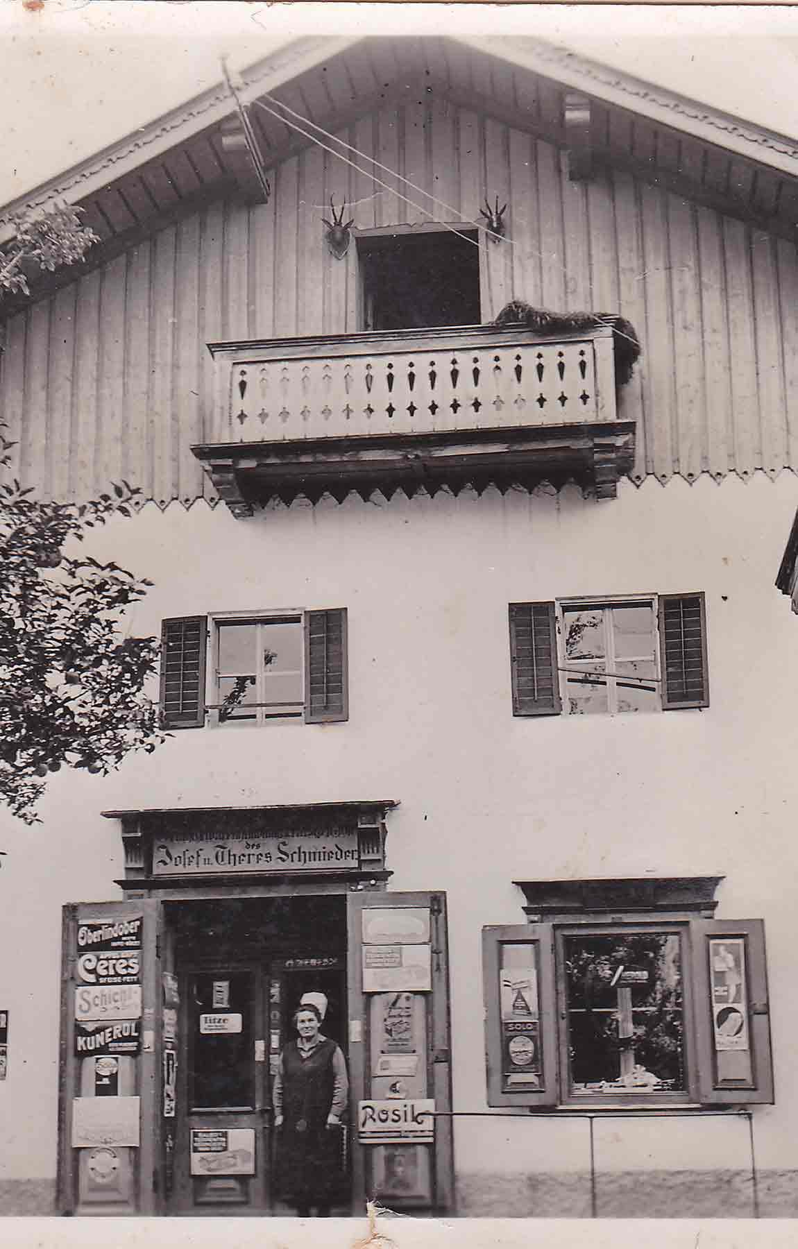 bauernladen ebbs 1930