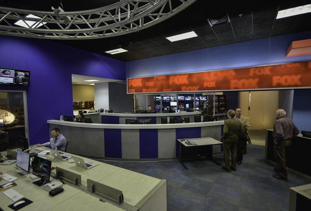 CBS News Studio  Commercial Architect  Schmidt Associates