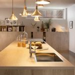 Kokkenbordplade I Eg En Levende Og Smuk Losning
