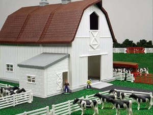 Dairy Barn Set
