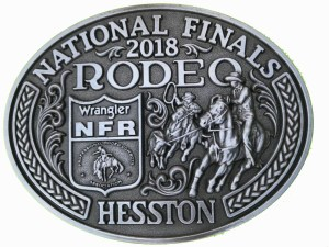 2018 Hesston NFR Belt Buckle