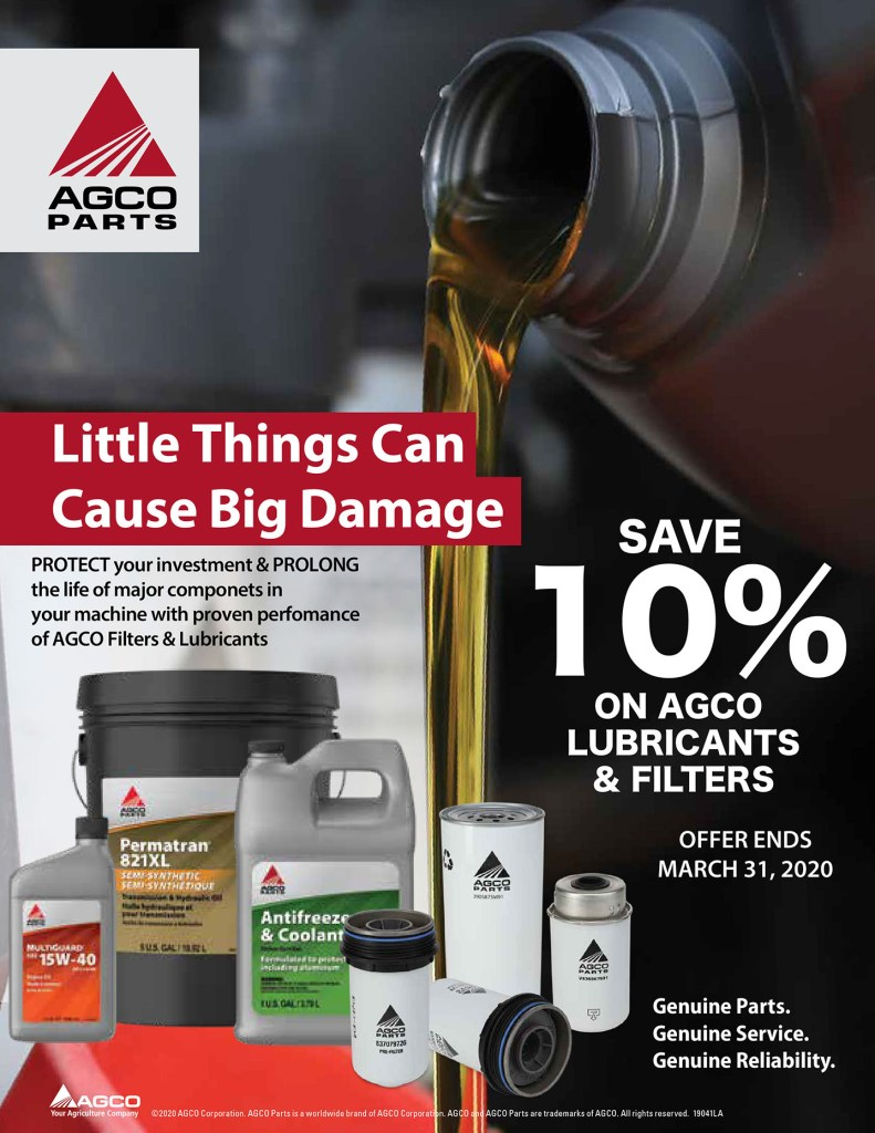 Lubricants & Filters Special