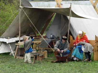 Mein Lager für Mittelalter-Märkte (2014)