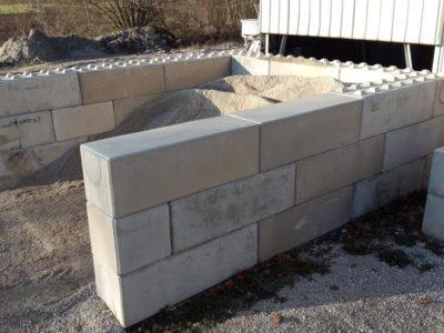 Case à sable Béton Block