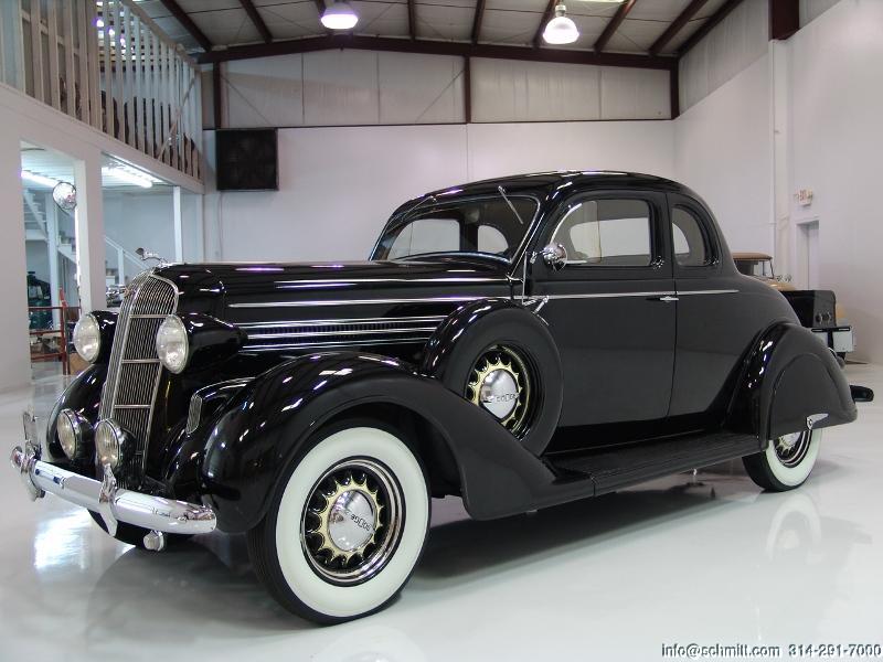 1936 Dodge Rumble Seat Coupe — Daniel Schmitt & Company