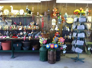 Check out our wide variety of hard goods to add to your own garden