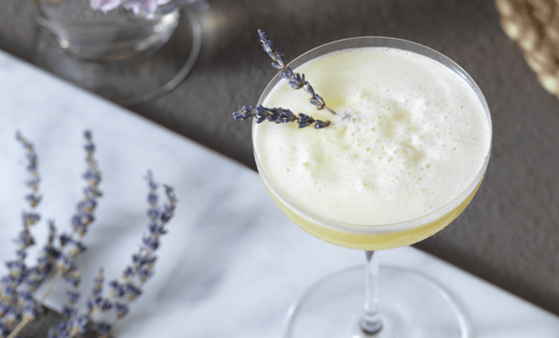 Eau De Lavender Cocktail